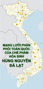 Mạng lưới đại lý của Chế Phẩm Hùng Nguyễn